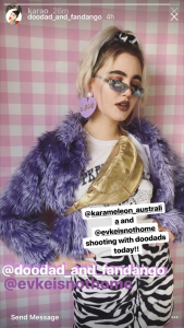 Doodad and Fandango Instagram Story
